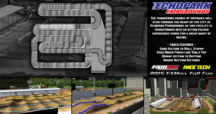 Echopark Fairgrounds Track Picture